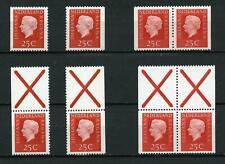 Nederland Alle unieke combinaties uit postzegelboekje 9F - SUPERAANBIEDING