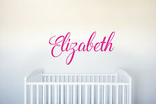 Name - Vinyl Decal Wall Art Decor for Nursery Children Girls Baby Room v3