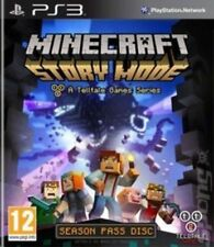 Minecraft Story Mode PS3 Telltale Games Season Pass Disc -MINT - Super FAST DEL