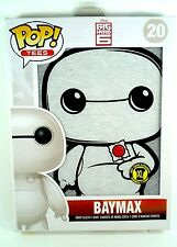 FUNKO POP! Tees - XL - BAYMAX Big Hero 6 Disney lolipop HOT TOPIC w/ Standee NEW