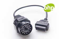BMW 20-pin OBD1 Diagnostic adapter with Ignition detection OBD2