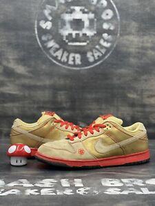 Nike SB Dunk Low Pro Money Cat 2007 Size 12 304292-771 Brown Gold Orange Red OG