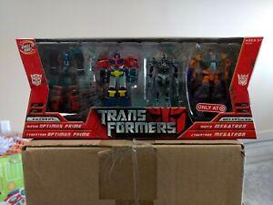 Hasbro Transformers Movie 2007 Legends Optimus Prime & Megatron Target Exclusive