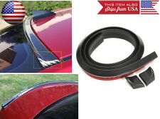 Semi Gloss Black Roof Trunk Spoiler Wing Tail Diffuser Deflector For Honda Acura