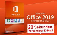 Microsoft Office Professional Plus 2019 Key Lizenz Software E-Mail Deutsch Pro