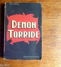 Littérature érotique Coll Noire et rouge Fleuve noir  (La flamme) DEMON TORRIDE