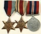 WW2 British Commonwealth Medal Bar UK Germany Africa 1939 - 45 War