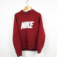 Vintage NIKE Print Spell Out Hoodie Sweatshirt | Athletic Air Sport | Medium M