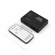 HDMI. 3 Port Switch Splitter Hub with Remote 1080p For PS3 PS4 Xbox One HDTV GO9