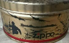 Old Blank Memory Tin Can For Zippo 50 Years D-Day Nomandy