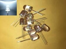 -- (20 pieces) 10mm White blinking LED light diode flashing