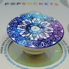 PopSockets Phone Grip POPGRIP PopSocket With Swappable Top Cornflower Chakra