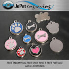 Deluxe Pet Tag Pet ID Dog Kitten Puppy Cat Name Pet Tags Personalised Engraved <br/> Free Post, Split Ring and Engraving!!!