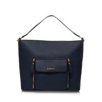 Kangol Womens Large Stylish Beautiful Handbag Shoulder Bag Navy Blue Pocket Tote