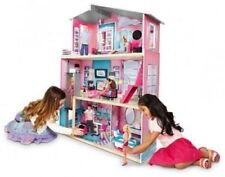 Modern Scale Dollhouse Kids Girls Toy w/11 Pc Furniture Accessories Fantasy Toy.