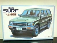 Aoshima Model Kit 1/24 Toyota HILUX SURF V6 SSR Limited GREEN MIB Made in Japan