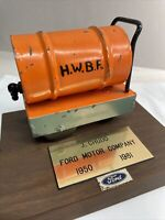 1950 1981 Ford Motor Company Pickup Dealer Sales Award promo ? RARE HWBF Oil ?
