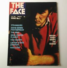 The Face Magazine - Issue 3 July 1980 w/ Bryan Ferry, David Bowie, The Cramps