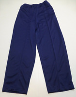 Blair Pants Womens 18P Blue Sewn In Front Seam Elastic Waist Polyester New