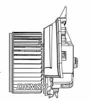 Denso Cabine Ventilateur / Moteur Pour A Opel Corsa Berline 1.4