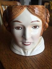 Star Wars Princess Leia Carrie Fisher Ceramic Mug Cup 1983 ROTJ Disney