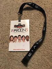 Maroon 5 / Honda Civic Tour 2014 Lanyard Program Booklet Adam Levine