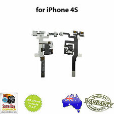 for iPhone 4S - Audio Jack Volume Power Flex Replacement Repair Part - FREE SHIP