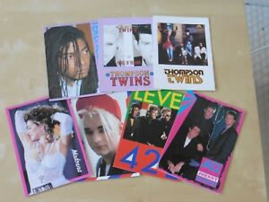 Eighties band birthday Cards Blank