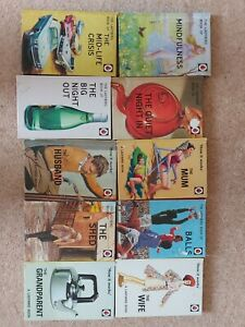 Ladybird Parody spoof  Books set x 10