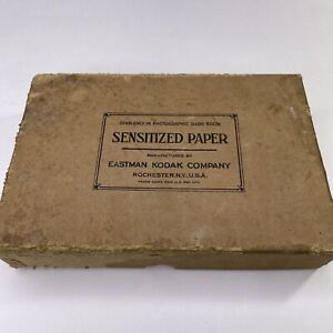 "Antique RARE 1920 AZO Eastman Kodak Photography Paper Glossy Grade F 4""x6"""