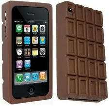 Ideal Regalo De Silicona Chocolate Funda Protectora + Protector De Pantalla Iphone 3g 3gs En Caja
