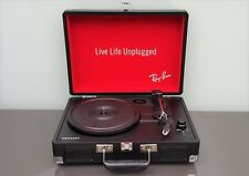 RAY BAN TURNTABLES GIRADISCHI CROSLEY VINTAGE PORTABLE