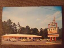 "Tuscaloosa, AL, Vintage Chrome Postcard, ""The Cove Restaurant"", Old Cars"