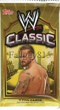 2011 Topps WWE Classic Wrestling Autograph/Auto Guaranteed Factory Seal Hot Pack