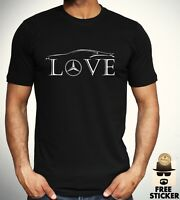 Mercedes Benz Love T shirt Car Racer Novelty Tee Gift F1 AMG New Top Men S - 3XL