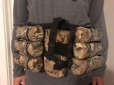 Paintball 6+1 Harness Belt w/ 6 Pods & Center Pocket w/ straps4 Full Size Tank