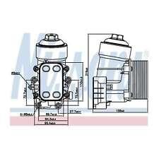 Fits VW Tiguan 2.0 TDI FWD Genuine OE Quality Nissens Gearbox Oil Cooler
