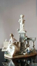 Lladro 5425 Studying in the Park, Mint condition!