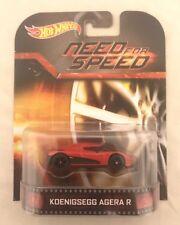 Hotwheels Retro Entertainment Koenigsegg Agera R VERY RARE HTF RR 1/64 Last One