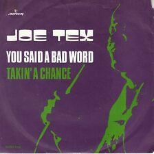 7inch JOE TEXyou said a bad wordHOLLAND VG++ (S1302)
