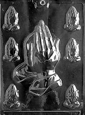 R031 Assorted Praying Hands Chocolate Candy Soap Mold with Instructions