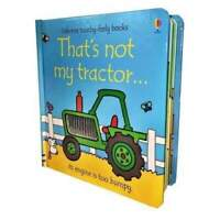 Thats not my Tractor by Fiona Watt (Board book) Book NEW