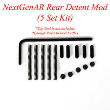 NextGenAR takedown rear spring and pin detent mod replacement parts 5 Pack