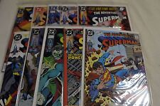 Adventures of Superman 10 issue lot, 471-480