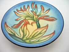 Moorcroft Indian Paintbrush Coaster by Philip Gibson