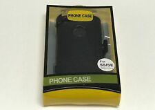 For Apple iPhone 5 / 5S / SE Case Cover w(Belt Clip Fits Otterbox Defender)Black