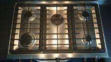 Five Burner Gas Hob - Zanussi ZGP982X - Stainless Steel - 900mm wide