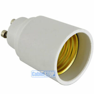 Convert GU10 to E27 Edison Screw ES Light Bulb Holder Adapter Connector