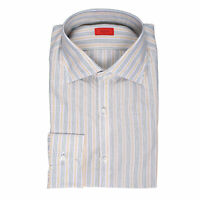 ISAIA Casual Button Up shirt Regular Long Sleeve fit Size EU 16.5 US 42