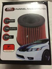 "DC Sports Funnel Ram Air Filter 3"" Inlet5x6x6 DCF-300"